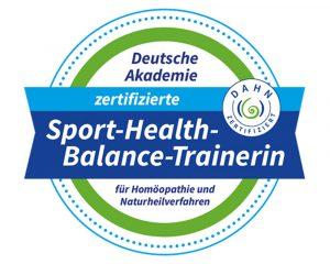 "Zertifikat ""Sport-Health-Balance-Trainerin"""